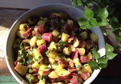Salada de batata-doce
