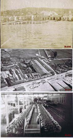Antigua fábrica de conservas Massó Hermanos. Fotografía: Museo Massó.