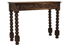 19th-C.  English Carved Console on OneKingsLane.com