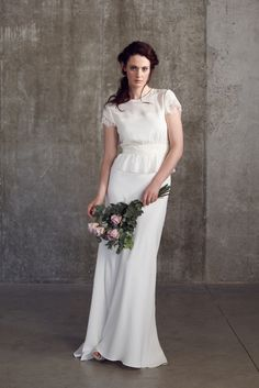 Robe de mariée bohème - Robe: Bridal Separates by Sally Lacock