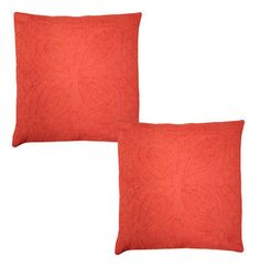 """Indian Home Decor Case Pillow Covers Cut Work Cotton Cushion Cover Throw 16"""" New"""