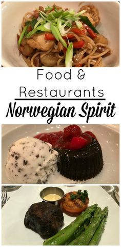 TheNorwegian Spirit cruise ship offered a variety of dining options. Regardless of your mood or the hour, you'll find tasty offerings around the ship. We put together food photos and descriptions including information on all the restaurants on the Norwegian Spirit.