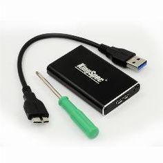 [ 32% OFF ] Msata To Usb 3.0 Ssd Enclosure External Hd Hard Drive Disk Box Storage Case Adapter Support 30Mm*50Mm B Msata