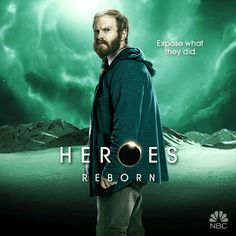 Pin for Later: Prepare to Be Dazzled by the Animated Posters For Heroes Reborn Henry Zebrowski as Quentin