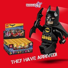 The new minifigures from the @Lego Batman movie have arrived!! Get yours at any #PuzzleZoo location. #batman #minifigures #blindbag #dccomics #lego #legotoys #toycollection #legobatmanmovie #happynewyear