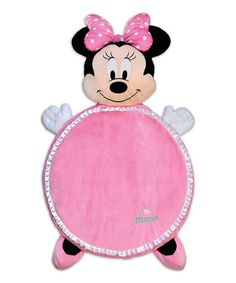 Look what I found on #zulily! Minnie Mouse Plush Playmat by Disney Baby #zulilyfinds