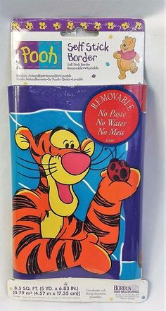 Disney's Tigger Wall Border by Borden #Disney #WallBorder