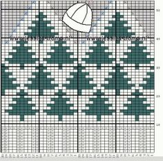 Great Christmas charts saved on this page. Knitting Charts, Knitting Socks, Knitting Stitches, Baby Knitting, Knitting Patterns, Knitted Mittens Pattern, Knitted Hats, Crochet Hats, Fair Isle Chart