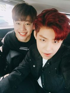 Kim Donghyun e Park Woojin K Pop, Produce 101 Season 2, Kim Jaehwan, Ha Sungwoon, Now And Forever, 3 In One, First Dance, Kpop Boy, Kpop Groups