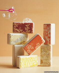 See the Japanese Motif Soaps in our Handmade Gifts for Her gallery