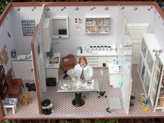 dollhouse miniature VET CLINIC - Google Search
