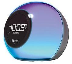 iHome Wecker mit Bluetooth®, FM-Radio & Farbwechseler »iBT29« für 69,99€. Zu eigener Musik, FM-Radio oder Alarmton aufwachen bei OTTO