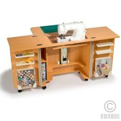 Busy Bee No. 16: Make Your Own Sewing Machine Cabinet Table | Bernina  Sewing Machine Cabinet | Pinterest | Bees, Sewing Rooms And Room