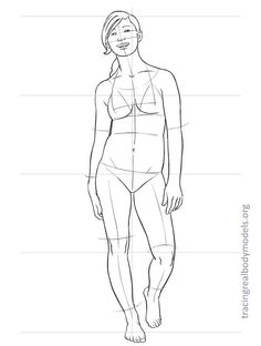 realmodels-templates-0029 Figure Drawing Models, Human Figure Drawing, Figure Drawing Reference, Body Drawing, Life Drawing, Fashion Figure Templates, Real Bodies, Cartoon Sketches, Fashion Figures