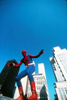 Marvel in film - 1977 - The Amazing Spider-Man - Nicholas Hammond as Spiderman Marvel Comic Books, Comic Movies, Marvel Movies, Dc Comics Superheroes, Marvel Heroes, Iconic Characters, Marvel Characters, Nicholas Hammond, Action Tv Shows