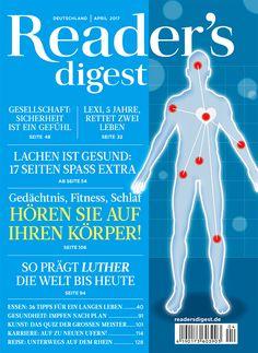 Lachen ist gesund - Reader's Digest April 2017