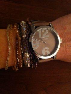 Horloge + armbanden: idee!