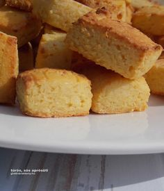 gluténmentes aprósütemény recept Sin Gluten, Gluten Free, Cornbread, Paleo, Food And Drink, Sugar, Healthy Recipes, Ethnic Recipes, Desserts