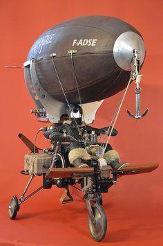 Steampunk Ship, Lampe Steampunk, Design Steampunk, Steampunk Crafts, Steampunk Machines, 70s Sci Fi Art, Steampunk Accessories, Junk Art, Robot Art