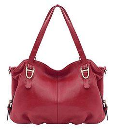 8c804230775c Heshe Leather Shoulder Handbags Vintage Hobo Tote Top Handle Bags Cross Body  Satchel Purse for Womens