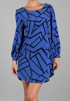 Geometric Print Dress Order Here: http://www.facebook.com/pages/Hey-Good-Lookin-Boutique/365284796885361?ref=stream