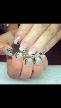 #GelNails  Nails By Keiara  Like my Facebook Page! https://www.facebook.com/NailsByKeiara