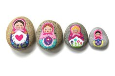Story Stones and Painted Rocks / Matryoshka by Thrive360Living, $25.00