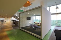Dentsu office by Intro Arquitectura, Buenos Aires – Argentina