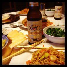 Asian food!