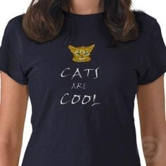 Cats are Cool from Zazzle.com