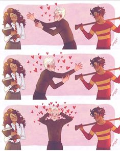 Pick Drarry. Because Drarry.