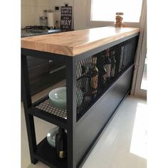 30 Nifty Small Kitchen Design and Decor Ideas to Transform Your Cooking Space - The Trending House Welded Furniture, Steel Furniture, Kitchen Furniture, Diy Furniture, Furniture Design, Furniture Websites, Inexpensive Furniture, Rustic Furniture, Home Decor Kitchen
