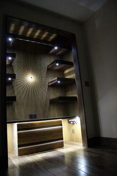 Wardrobe/Shelving Space