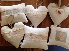 Lavender hearts for Toll House and Mabels emporium
