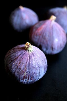 Figs on Black | Flickr - Photo Sharing!