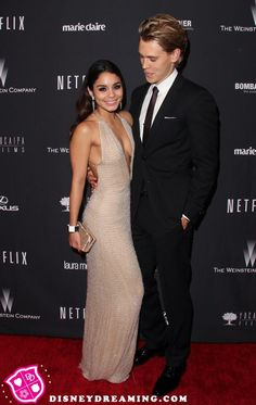 Vanessa Hudgens and Austin Butler at the Golden Globe Awards after party!