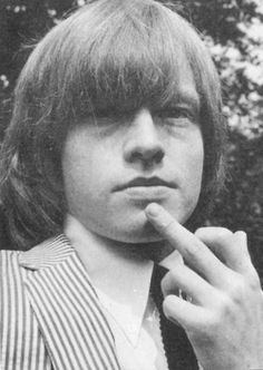 """Brian Jones - founding member of The Rolling Stones- (February July Found motionless at the bottom of his swimming pool, coroner's report listed """"death by misadventure"""". The Rolling Stones, Brian Jones Rolling Stones, Banjo, Ukulele, Julian Casablancas, Trombone, Brian Jones Death, Bowie, Hard Rock"""