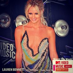 Lauren Bennet #MTV #PastVMAmoments #redcarpet #photography - @stevesolisphotography- #webstagram