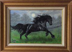Minx. Oil on canvas