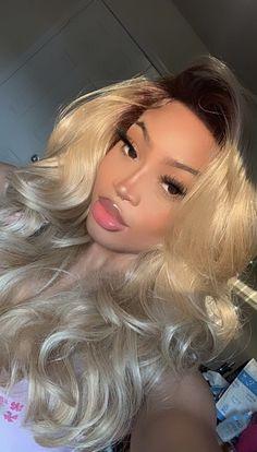 Baddie Hairstyles, Black Girls Hairstyles, Pretty Hairstyles, Summer Hairstyles, Straight Hairstyles, Hair Inspo, Hair Inspiration, Prinz Von Bel Air, Curly Hair Styles