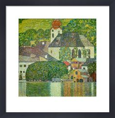 Church in Unterach on the Attersee, 1916 Art Print by Gustav Klimt at King & McGaw