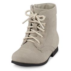 Toddler Girls Lace-Up Mili Boot ($15) ❤ liked on Polyvore featuring kids, baby shoes and shoes