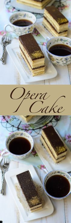 This Opera Cake looks so decadent and delicious!