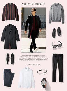 modern minimalist man