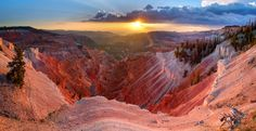 Cedar Breaks National Monument ~ located in the U.S. state of Utah near Cedar City