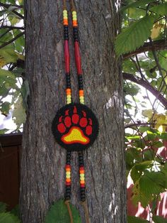 bear paw native american by deancouchie on Etsy, $110.00