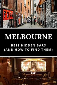 Melbourne Australia - one of the best things to do in Melbourne is bar hopping down laneways to discover hidden bars. Read our guide to the best secret bars in Melbourne and add them to your Australia itinerary Australia Tourism, Australia Travel Guide, Visit Australia, Western Australia, Australia Holidays, Australia Trip, Melbourne Bars, Melbourne Travel, Melbourne Shopping