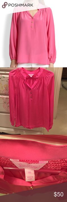 Lilly Pulitzer Elsa Top Size XS, but I think it could be a small Lilly Pulitzer Tops Blouses