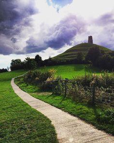 Glastonbury - Tor #tor #glastonbury #england #paganism #instapic #picoftheday #landscape #instagram