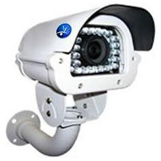 """Profesional Camara de Seguridad p/ exteriores. Esta nueva Camara de Seguridad """"impermeable"""" con infrarojos (vision nocturna) y 420 líneas de TV posee ademas un lente de 4-9 mm con una distancia de trabajode 50 metros."""